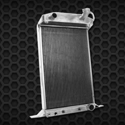 1937 Ford Standard Master Deluxe Coupe Aluminum Radiator