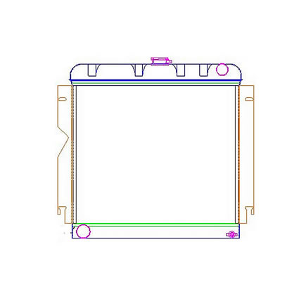 Radiator 5-00024 Drawing View