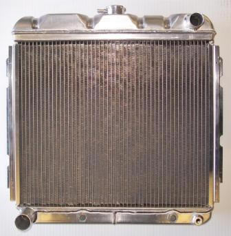 1967 Dodge Charger Griffin Aluminum Radiator - Part Number 5-70162
