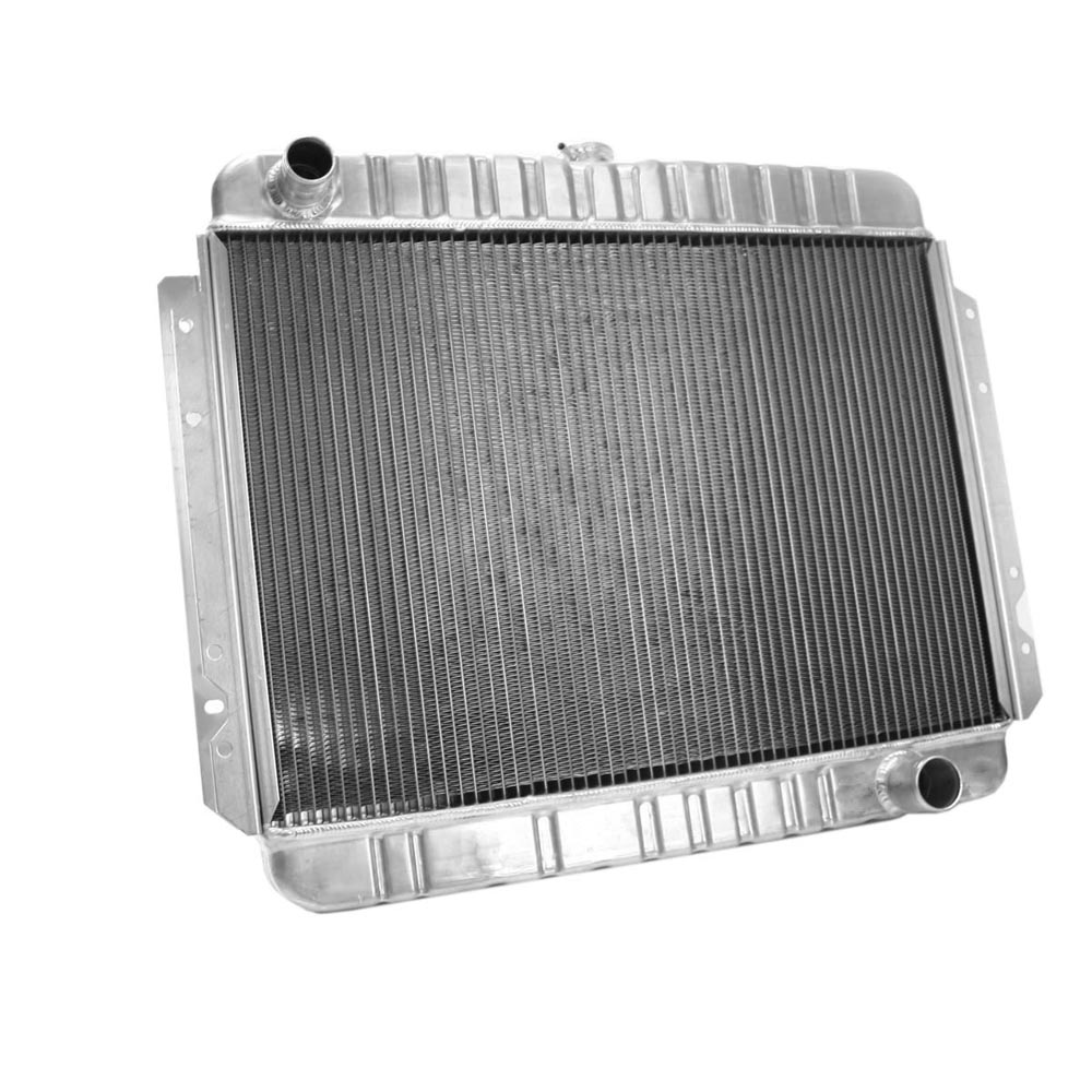 Griffin Exactfit Radiator Details For 1966 Chevrolet Caprice Chevy Impala Aluminum Part Number 6 00106
