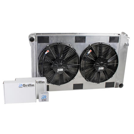 Radiator CU-00007 Front View