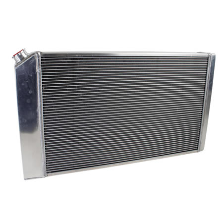 Radiator CU-00008-LS Back View