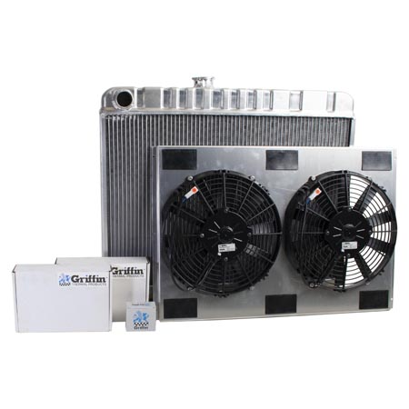 Radiator CU-00060 Front View