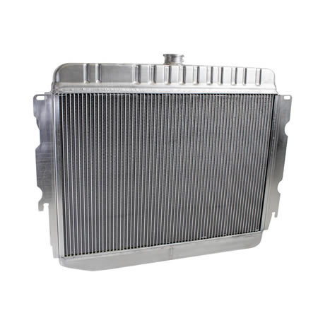 Radiator CU-70004 Back View