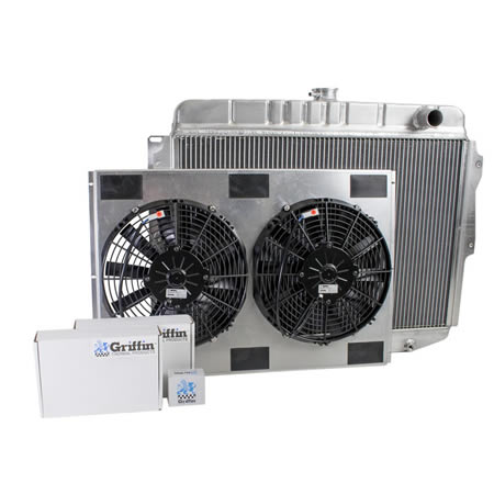 Radiator CU-70004 Front View