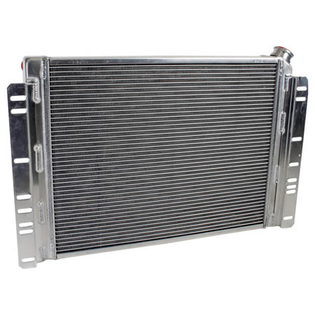Radiator CU-70038 Back View