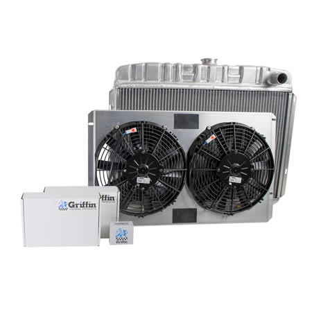 Radiator CU-70039 Front View