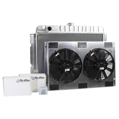 Radiator CU-70057 Front View