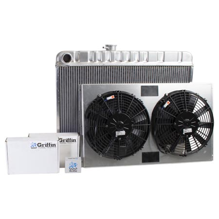 Radiator CU-70062 Front View