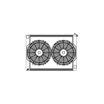 Griffin Off Road Combination Units - Fan-Shroud-Radiator