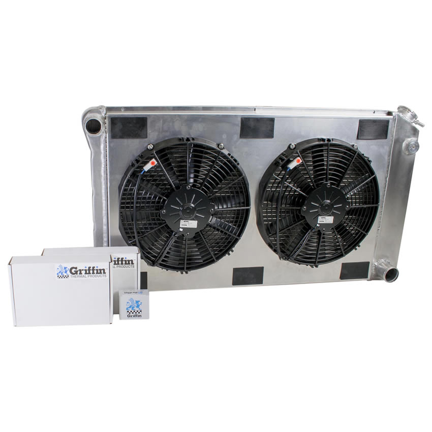 Radiator CU-00006 Front View