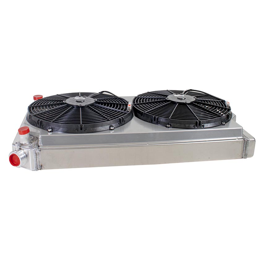 Radiator CU-00008-LS Side View
