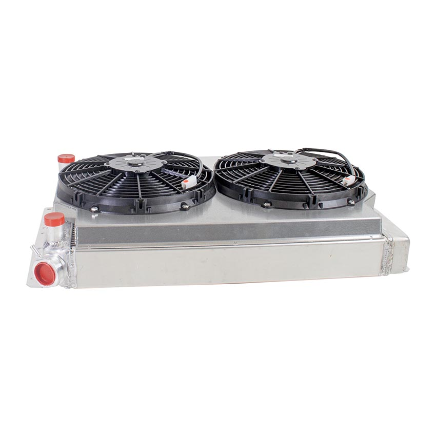 Radiator CU-00038-LS Side View
