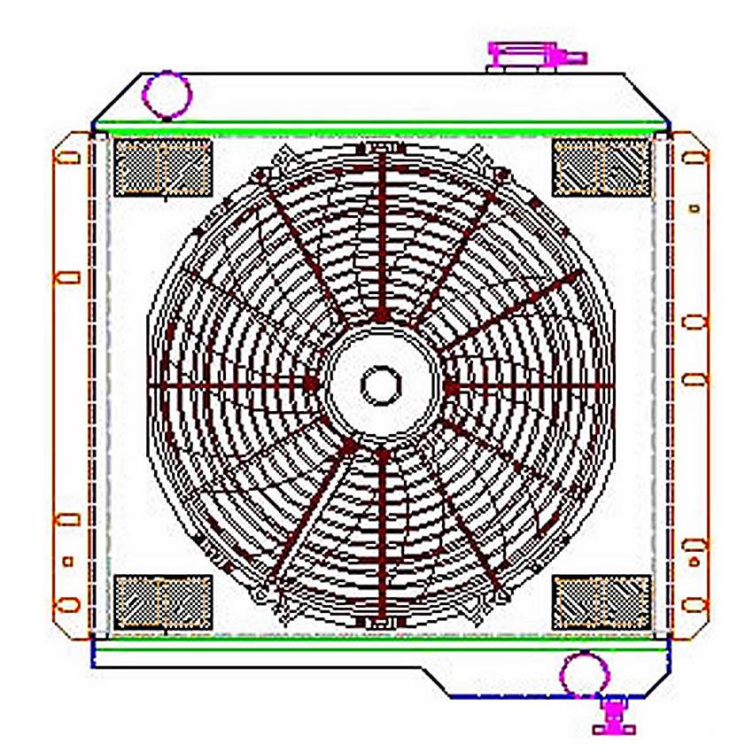 spal fan wiring diagram single spal fan relay wiring