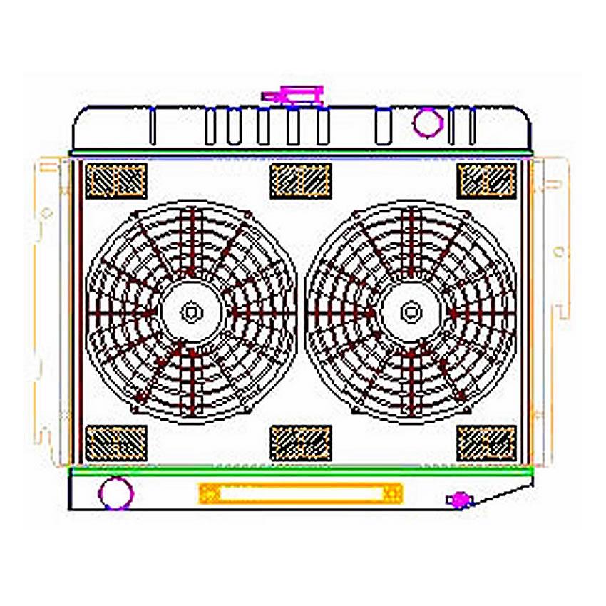 ExactFit ComboUnit Radiator CU-70005