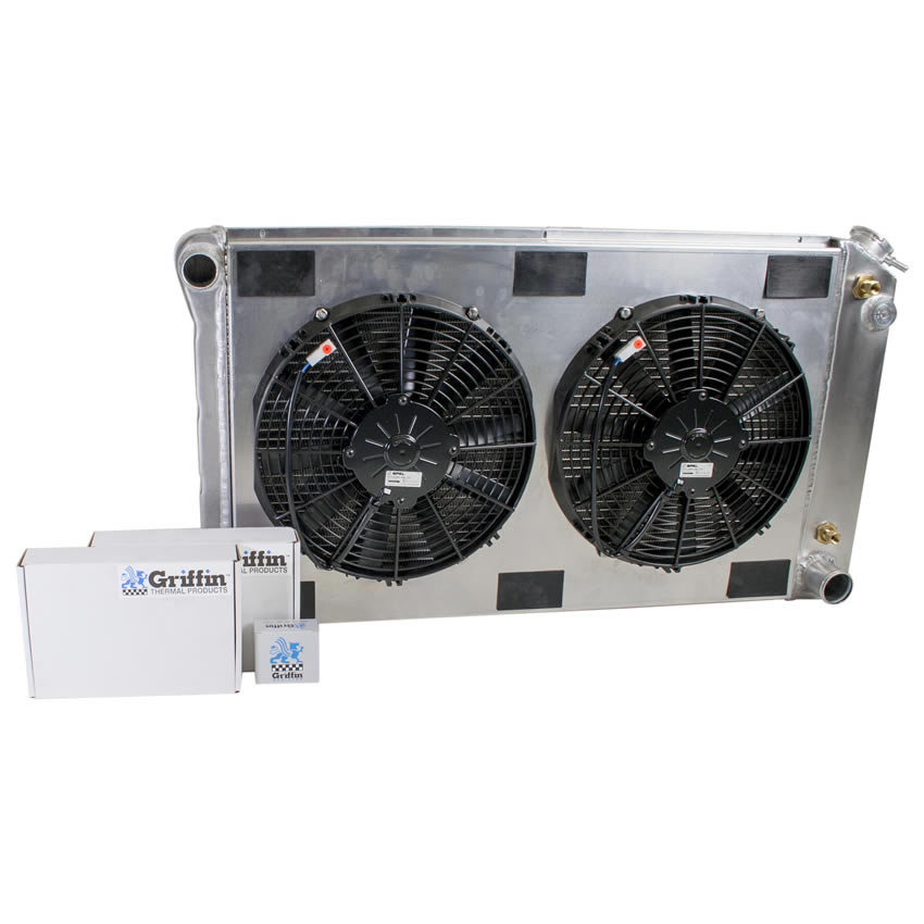 Radiator CU-70006 Front View