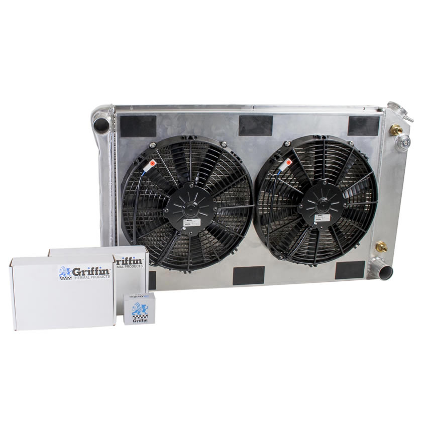 Radiator CU-70007 Front View