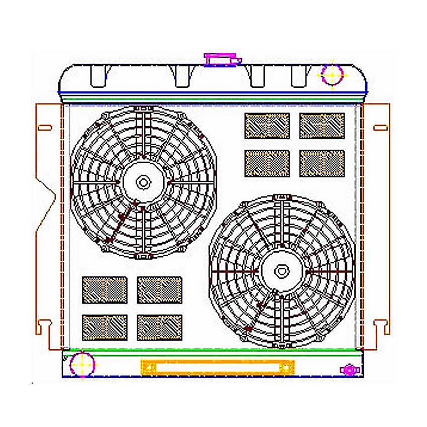 ExactFit ComboUnit Radiator CU-70024