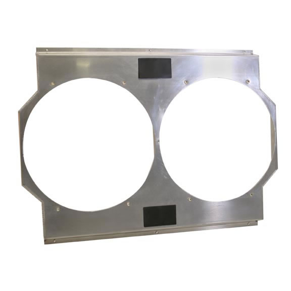 Aluminum Fan Shrouds are available in all sorts of shapes